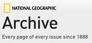 National Geographic Archive