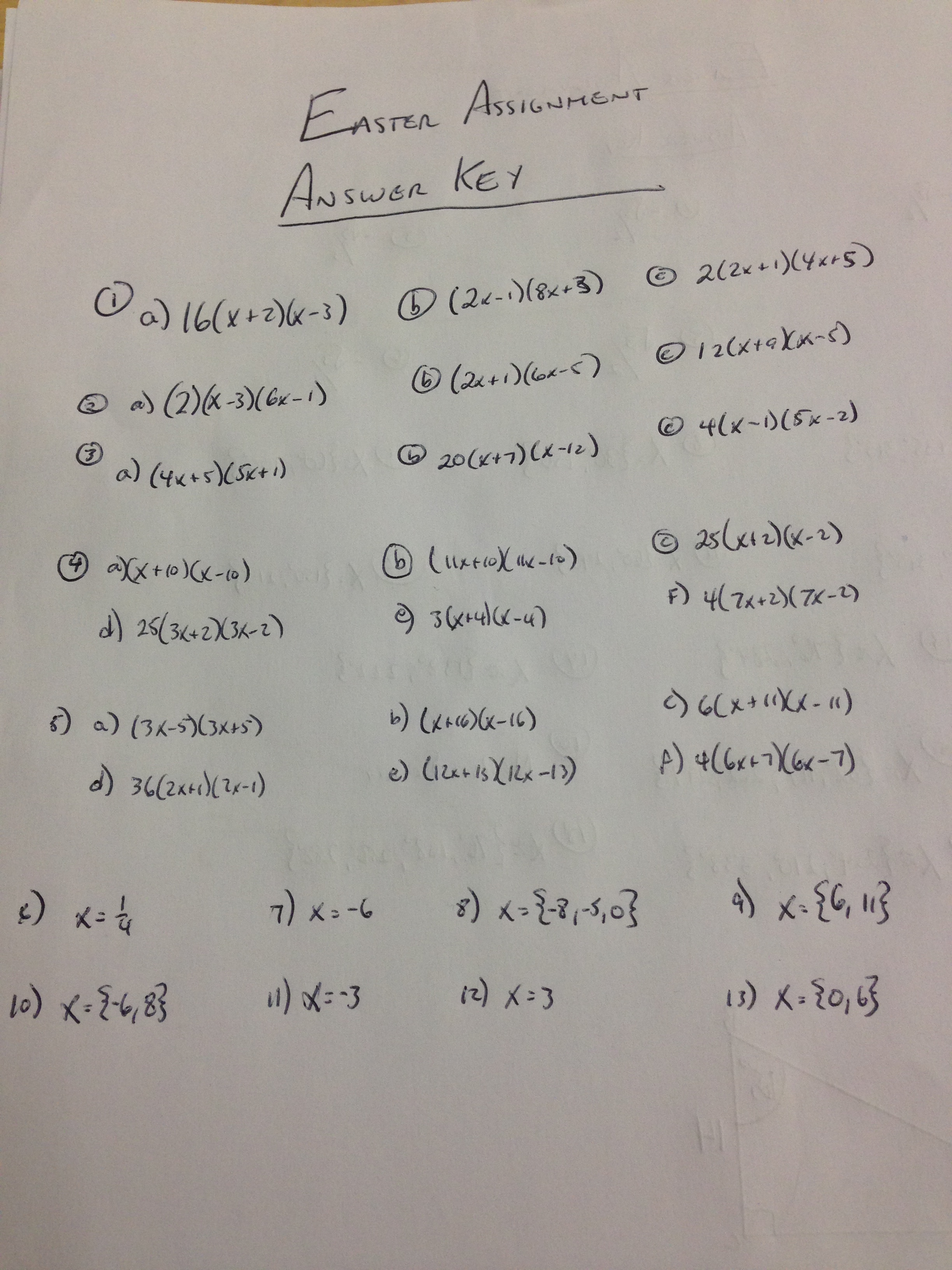 sfponline uploads76 – Practice 5-4 Factoring Quadratic Expressions Worksheet Answers